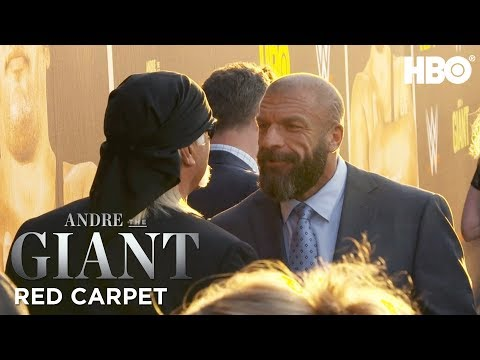 Red Carpet Buzz w Hulk Hogan, Bill Simmons, & More  Andre The Giant  HBO