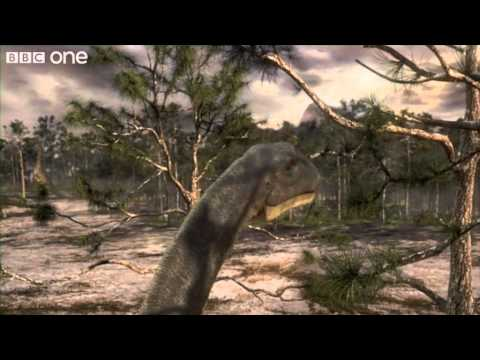 Argentinosaurus Feeding - Planet Dinosaur - Episode 5 - BBC One