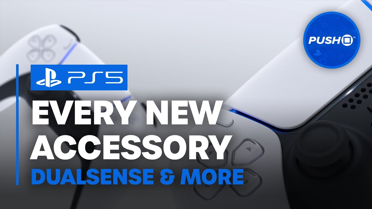 PS5: Every New Accessory (DualSense, Camera, More) | PlayStation 5