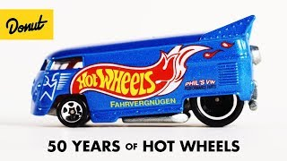 Evolution of Hot Wheels
