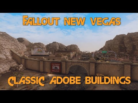 Classic Adobe Buildings - Fallout New Vegas