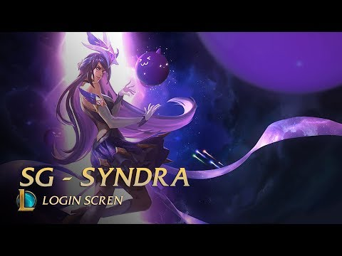 Star Guardian Syndra - Login screen (unofficial)