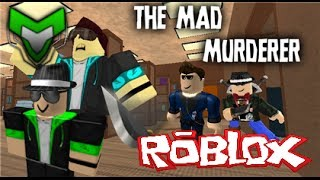 "ROBLOX: The Mad Murderer! w/Ethan & Dylan ""trick shot!"""