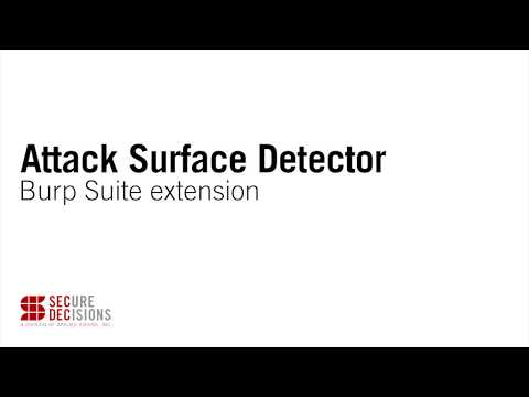 Attack Surface Detector