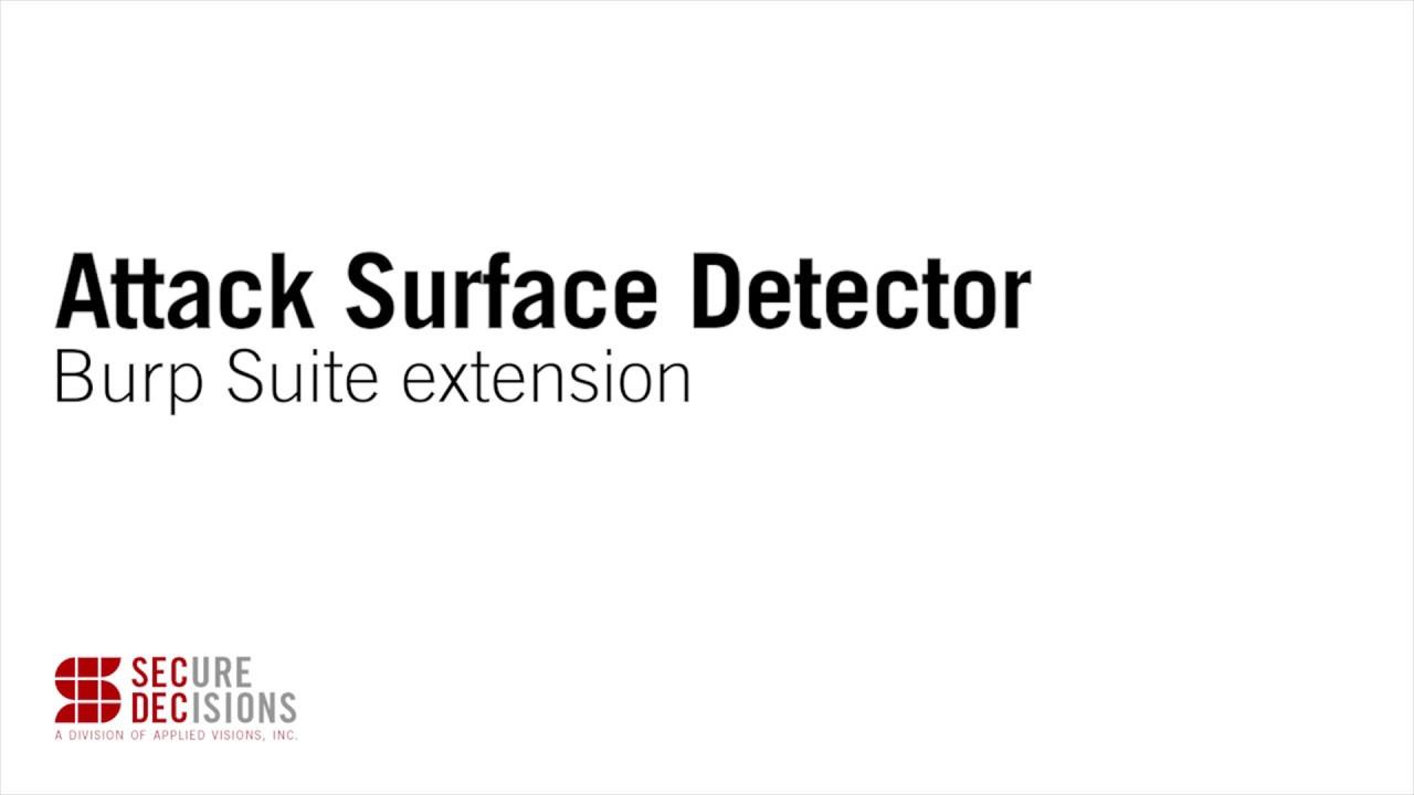OWASP Attack Surface Detector Project - OWASP