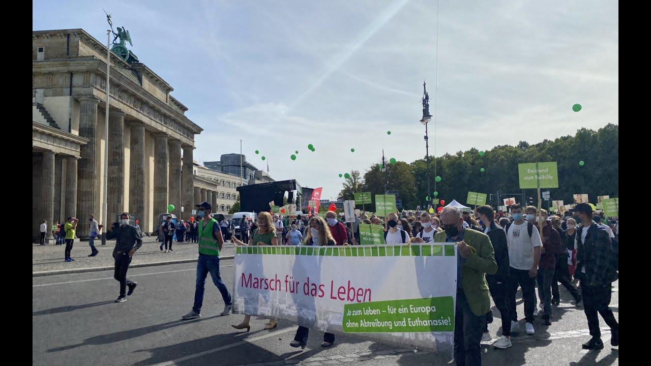Marsch für das Leben 2020 - Kundgebung und Demonstration | Live-Übertragung von EWTN.TV