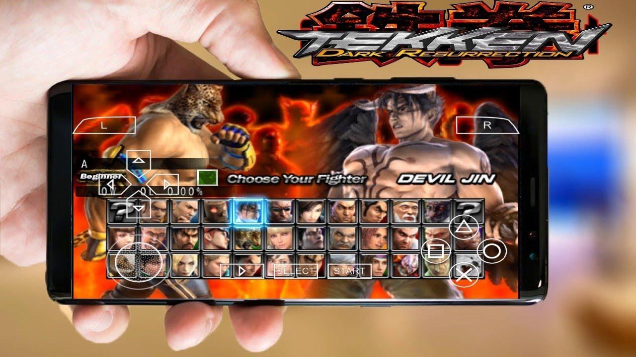 Tekken 5 Dark Resurrection Android Game Download Install Youtube