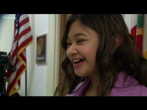 """""""America's Got Talent"""" star Angelica Hale goes to Washington to raise awareness for kidney disease"""