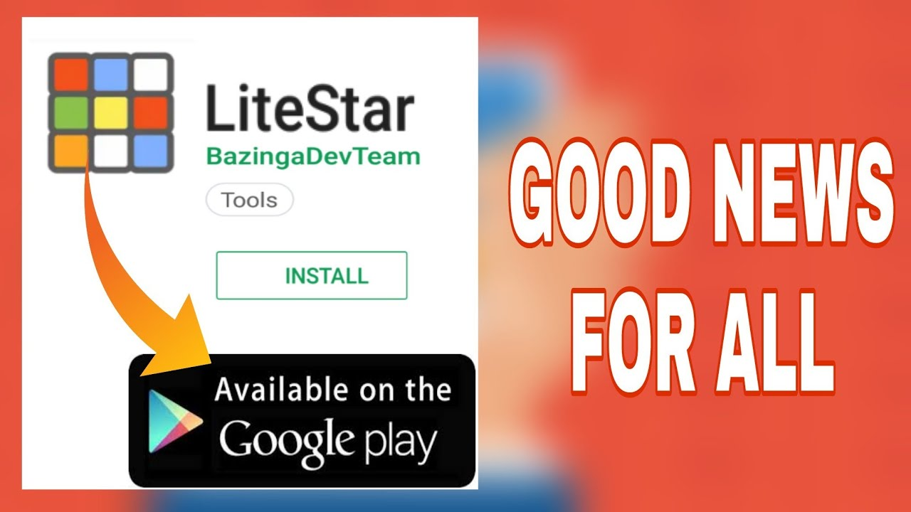 🔴Good news for all, play pubg in litestar app  how to download lite star  app play pubg in litestar