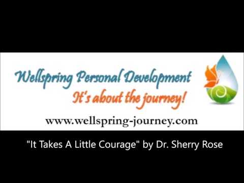 """""""It Takes A Little Courage"""" by Sherry Rose at Parkside Church (Mother's Day, May 8, 2016)"""