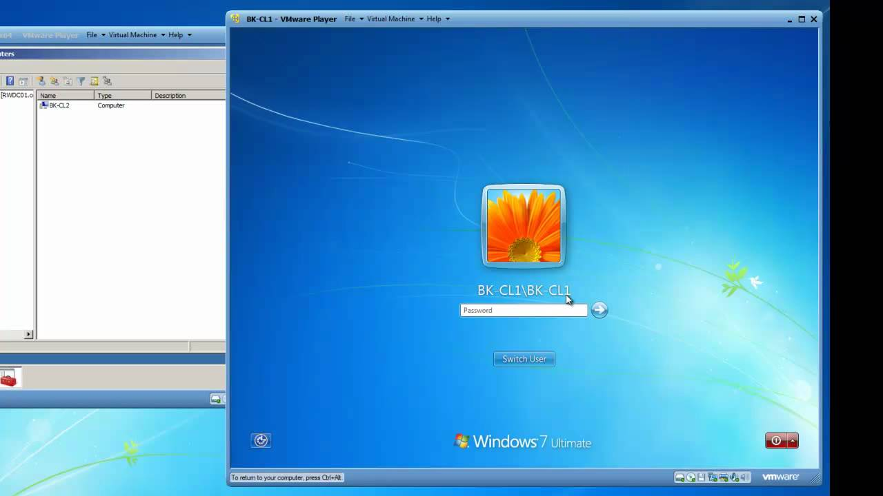 join windows 7 computer to windows server 2008 active