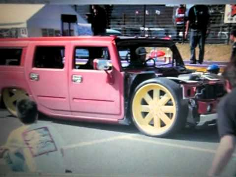 Hummer H2 Slammed On 30 Quot Asanti Scene1 Youtube