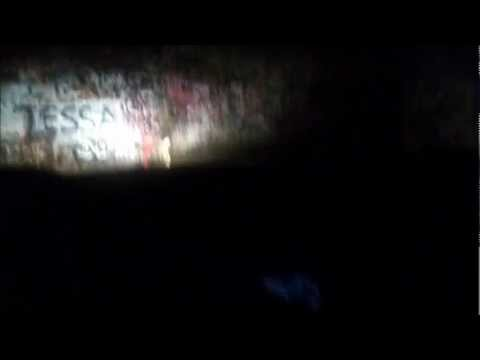 Driving thru Haunted Sensabaugh Tunnel Kingsport, TN