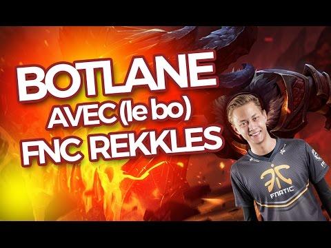 BOTLANE AVEC FNC REKKLES - Jhin ADC