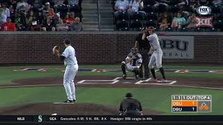 Oklahoma State vs Dallas Baptist Baseball Highlights - Apr. 24