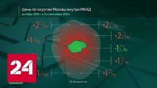 Россия в цифрах. Цены на жилье в Москве. Октябрь 2016 года(, 2016-11-18T16:27:41.000Z)