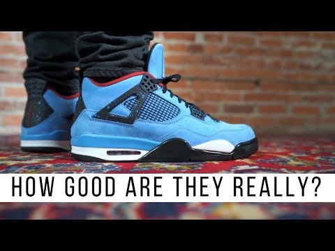 fdf142a0ffc HOW GOOD IS THE TRAVIS SCOTT AIR JORDAN 4 CACTUS JACK? - YouTube
