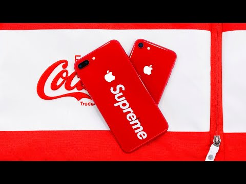 RED Apple iPhone 8/8 Plus SUPREME Edition?!