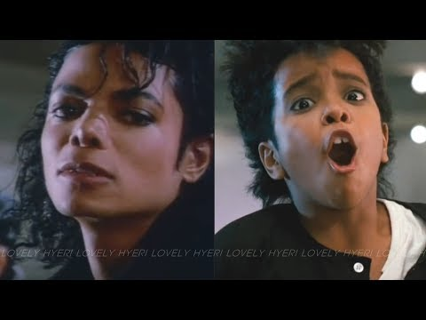 Michael Jackson - Bad (Official Video) vs Kids VERSION (MoonWalker