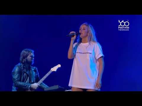 Ellie Goulding - On My Mind (Positivus festival 2017 live)