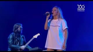 Video Ellie Goulding - On My Mind (Positivus festival 2017 live) download MP3, 3GP, MP4, WEBM, AVI, FLV November 2018
