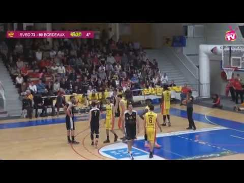 Basket St Vallier contre Bordeaux