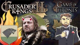 EKG: Crusader Kings II Game of Thrones: EVIL Ned Stark