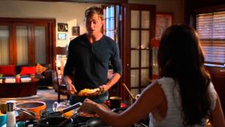 Zoe & Wade scenes 4x01 part 1/10 Kitchen (HD) - Hart of Dixie Season 4