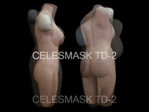 TD-2 Silicone female bodysuit, SH09 mask