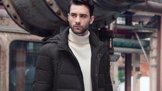 Мужская зимняя куртка icebear с AliExpress