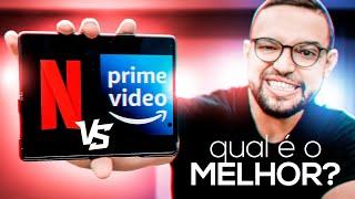 NETFLIX vs PRIME VIDEO   comparativo atualizado para 2020/2021!