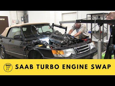 Saab 900 Turbo Engine Swap Update