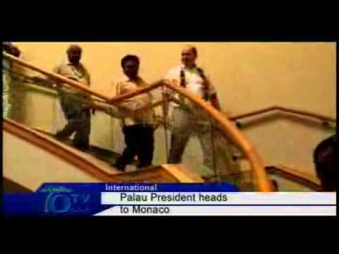 Palau President Heads To Monaco