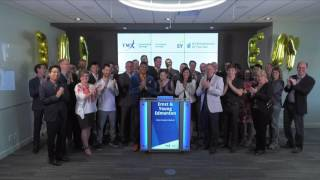 Ernst & Young Edmonton closes TSX Venture Exchange , May 5, 2017