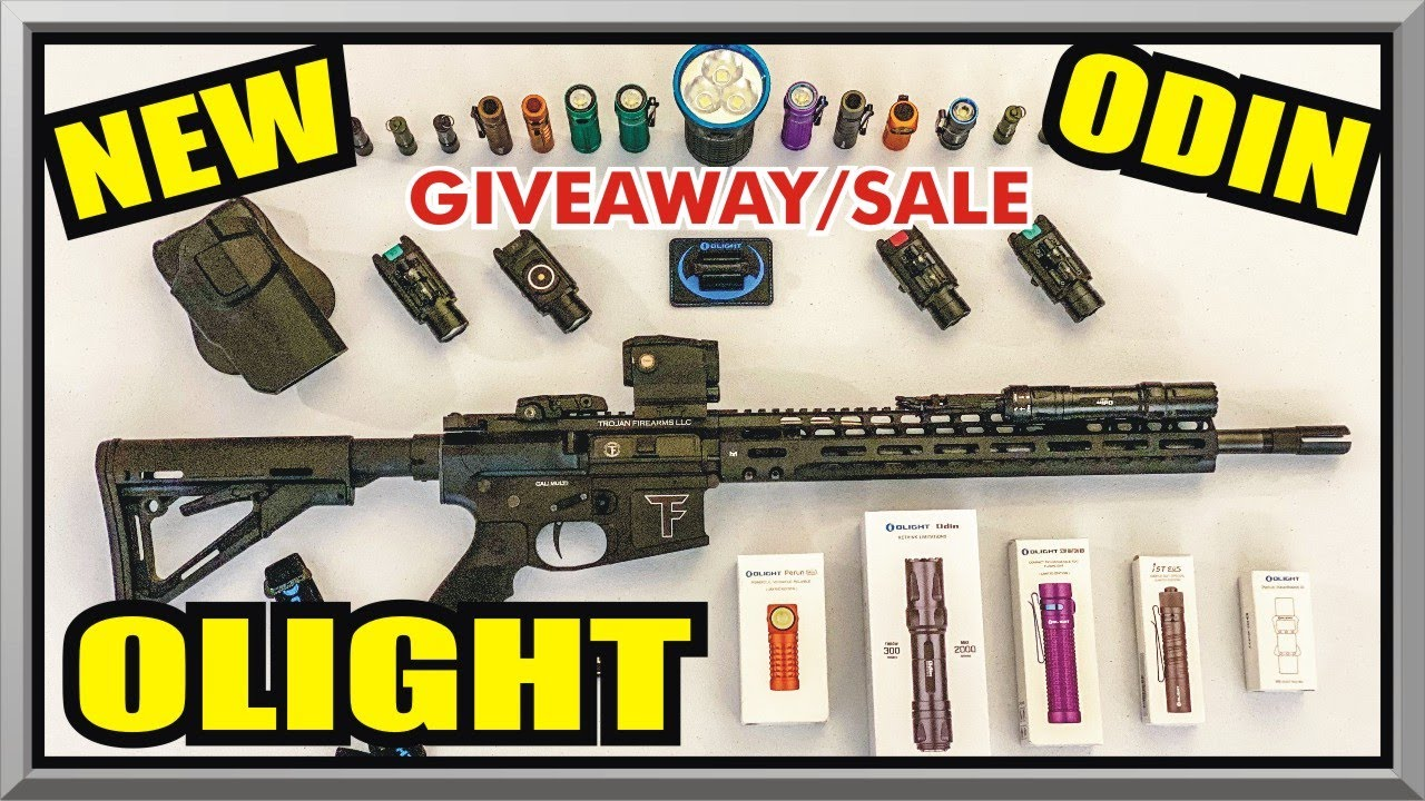 *NEW Olight ODIN Flashlight REVIEW / GIVEAWAY - Brightest WML - Father's Day Sale - Amagansett Press