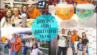 BRYAN'S 38th BIRTHDAY VLOG | Sugar Factory & Date Night | TeamYniguezVlogs #247b