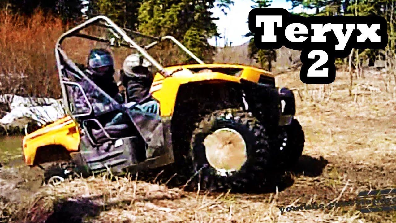 Atv Mudding 4x4 Kawasaki Teryx 750 Youtube