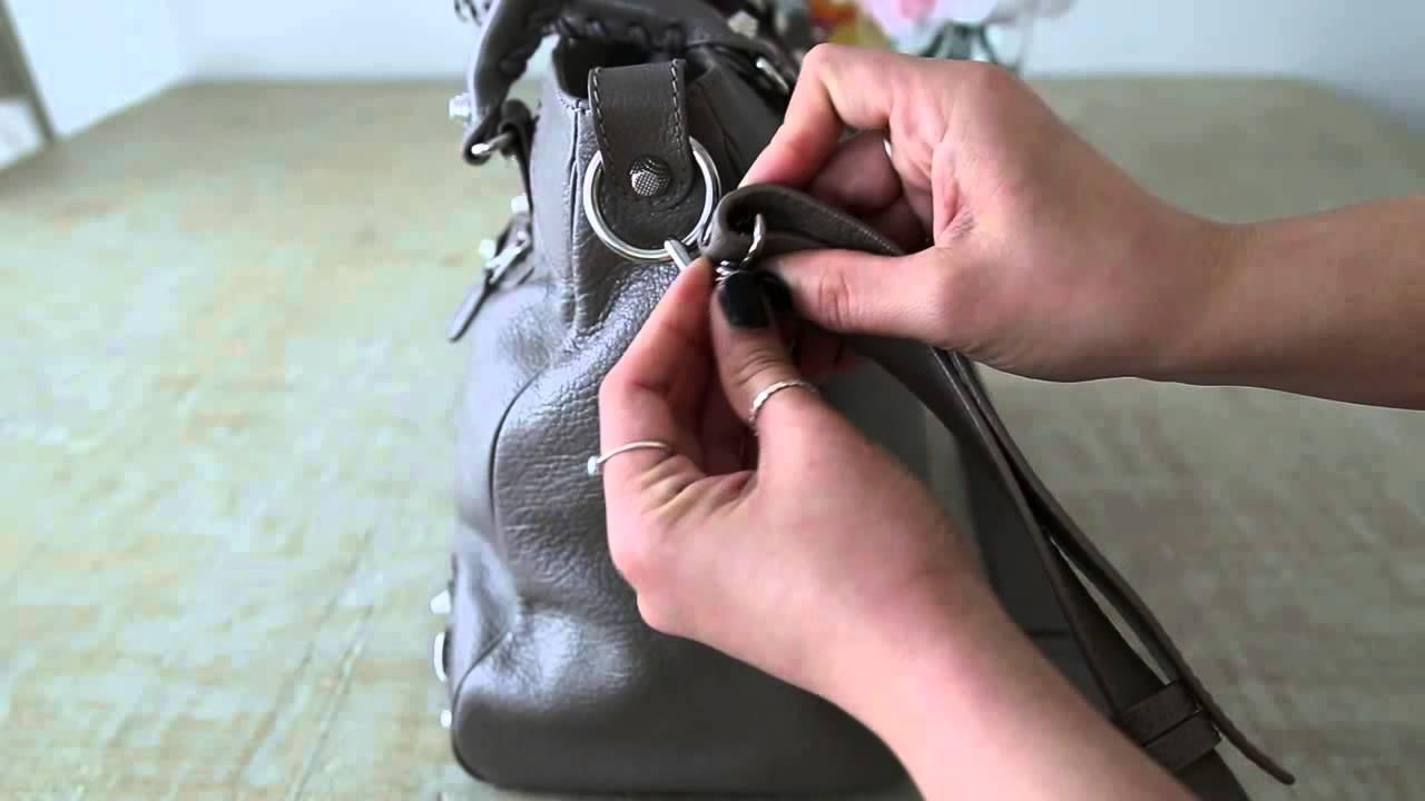 How To Shorten Strap - Balenciaga Velo