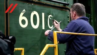 Painting Flying Scotsman - February 2016