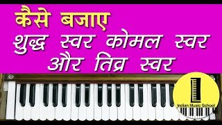 Indian Music School Lesson About 12 Notes  | शुद्ध...
