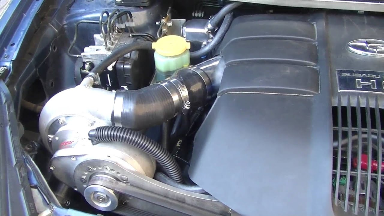Subaru tribeca 30h6 supercharged walkarounds youtube vanachro Gallery