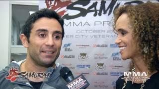 Mozzy Arfa on Headlining the Samurai MMA Pro Show Against Jamie Yager