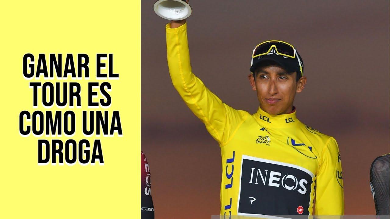 Egan Bernal: Ganar el Tour de Francia es como una droga