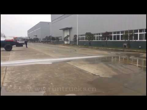 15 meters wide sprayer sweeper truck made in china