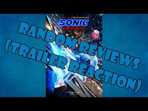 Random Reviews: Sonic The Hedgehog (2019) ???? (Trailer Reaction)