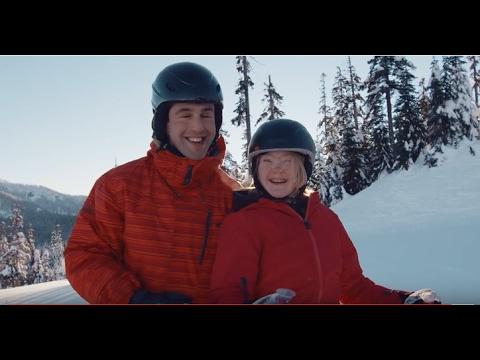Special Olympics USA: Virginia Wade & Josh Peck Ski Together