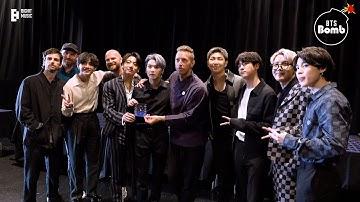 [BANGTAN BOMB] Meeting with Coldplay - BTS (방탄소년단)