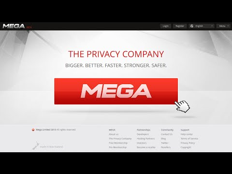 Convert MEGA.CO.NZ To Direct Link Using Free Services