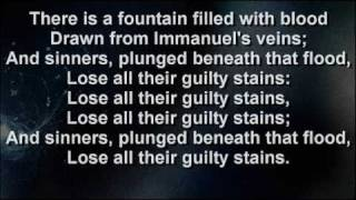 There Is A Fountain Lyrics