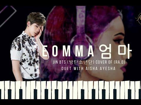 JIN BTS (방탄소년단) & Aisha Ayesha - 엄마 (Eomma) (LYRIC VIDEO)